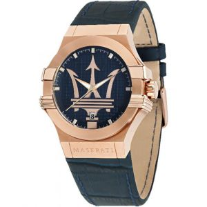 Image de Maserati R8851108027 - Montre pour homme avec bracelet en cuir