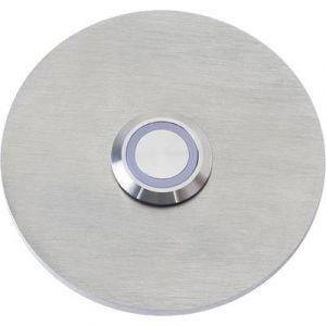 Heidemann Plaque de sonnette 1 prise 70534 acier inoxydable 24 V/1 A