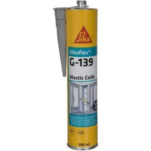 Sika Mastic-colle à prise rapide flex G 139 - Gris béton - 300ml