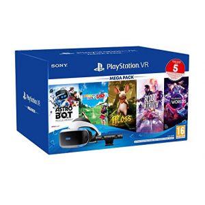 Sony Casque de réalité virtuelle PSVR MK4 Méga Pack 3 5 Jeux