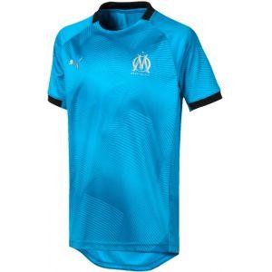Puma Maillot OM Graphic Bleu Junior