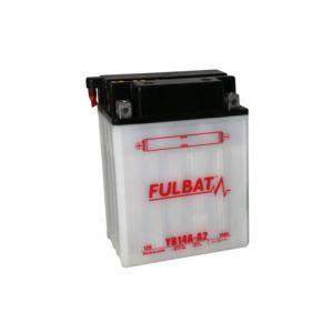 Fulbat Batterie moto YB14A-A2 12V / 14Ah