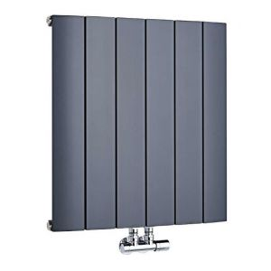 hudson reed aldrass600565 radiateur design aurora horizontal raccordement central aluminium. Black Bedroom Furniture Sets. Home Design Ideas