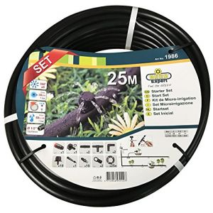 Raco Expert Kit complet goutte à goutte tuyau 25 ml diamètre 16 mm et 30 accessoires