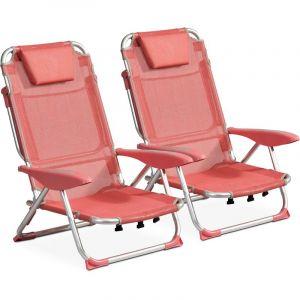 Clic clac des plages fauteuil Lot de 2 Melba CLIC CLAC DES PLAGES BY INNOV'AXE