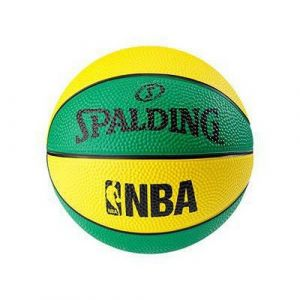 Spalding Nba Mini - Yellow / Green - Taille 1