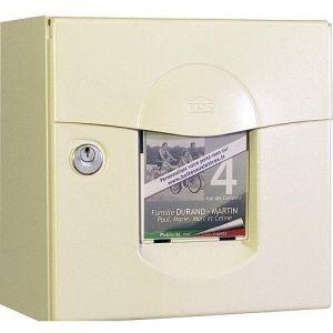 Renz Soléa - Boîte aux lettres normalisée 2 portes en acier