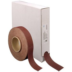 Pferd Rouleau de papier abrasif 45016418 Grain 180 (L x l) 25 m x 38 mm 1 rouleau(x)