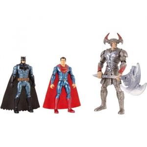 Mattel Justice League - Movie Coffret De Combat 3 Figurines 15 cm