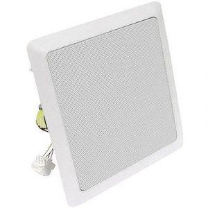 Visaton Haut-Parleur DL18/2 SQ Haut-parleur de plafond DL 18/2SQ carré