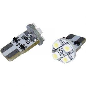 EUFAB Ampoule LED pour l'habitacle 13296 T10 12 V W2.1x9.5d (Ø x L) 11.5 mm x 20.5 mm 1 paire