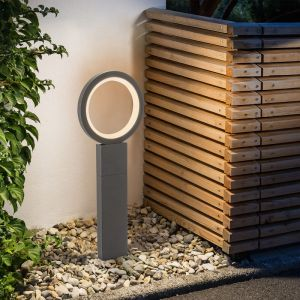Esotec Chemin de lumière LED 3000K blanc chaud 900 lm 11 watts lampe borne extérieure 201208