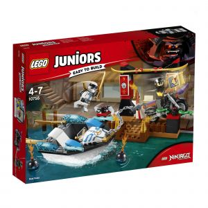 Lego 10755 - Juniors Ninjago : La poursuite en bateau de Zane