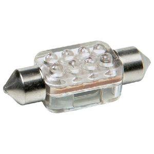 1 Ampoule 8 LEDS RACE SPORT Navette 36 mm Bleu