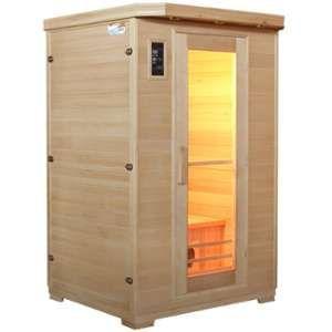 Sauna infrarouge 2 places - panneaux céramique Snö