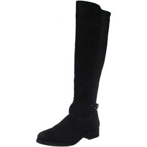 Tommy Hilfiger Th Buckle High Boot Stretch, Bottes Hautes Femme, Noir (Black 990), 39 EU