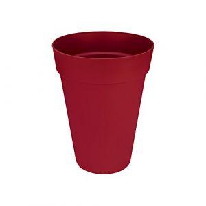Loft URBAN Pot de fleur - Haut - Ø35 cm - Fruits rouges - Résiste aux chocs et au gel - Convient pour toutes les saisons