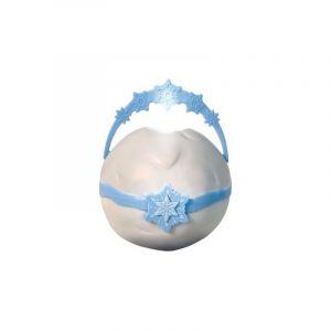 Worlds Apart La Reine des Neiges 2 - Veilleuse et lampe torche 2-en-1 GoGlow Pop - 2 niveaux de luminosité - Bleu