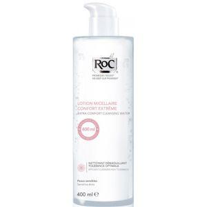 ROC Lotion micellaire confort extrême visage et yeux - 400 ml