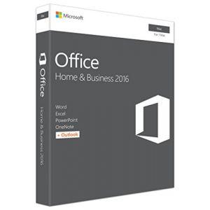 Office for Mac Home and Business 2016 - ensemble de boîtes - 1 Mac [Windows]