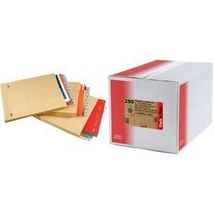 Gpv 250 pochettes 22,9 x 32,4 cm avec fenêtre 5 x 10 cm