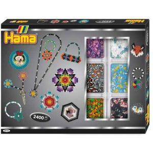 Hama Midi boite créative perles bicolores à repasser