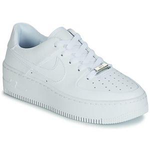 Nike Chaussure de basket-ball Chaussure Air Force 1 Sage Low pour Femme - Blanc - Couleur Blanc - Taille 36.5