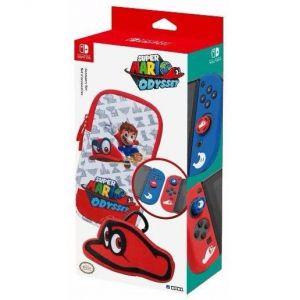 Hori Set d'accessoires Mario Odyssey pour Nintendo Switch