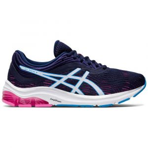 Asics Chaussures running gel pulse 11 femme noir rose 40