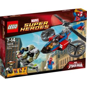Lego 76016 - Super Heroes : Marvel Comics - Spider-Helicopter Rescue