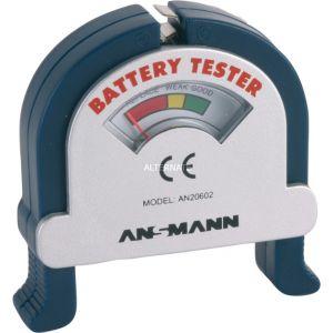 Ansmann Testeur pour piles cylindriques et batteries de 9V