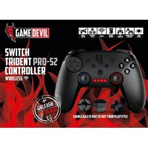 Game Devil Switch Trident PRO-S2 manette sans fil - noir