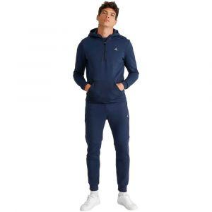 Le Coq Sportif Sweat-shirt Sweat à capuche 1/2 Zip bleu - Taille EU XXL,EU S,EU M,EU L,EU XL,EU XS