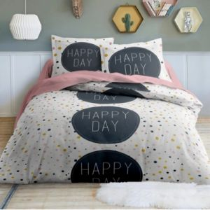Today Parure de lit Happy Day