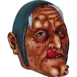 Masque vieille sorcière adulte Halloween