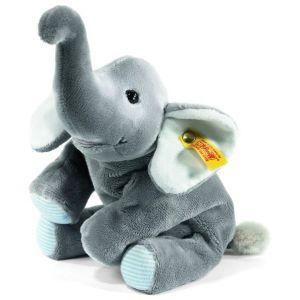 Steiff Éléphant Trampili 22 cm gris couché