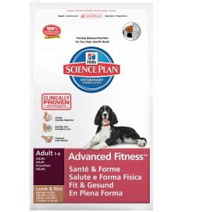 Hill's Science Plan Advanced Fitness Agneau/Riz - Croquettes pour chien adulte 12 kg
