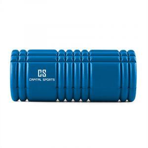 Capital Sports Caprole 1 - 6 rouleaux de massage 33 x 14 cm bleu