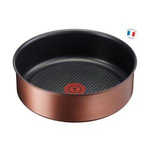 Tefal L6753503 Sauteuse 24 cm INGENIO ECO-RESPECT - Tous feux dont induction - poignée vendue séparément