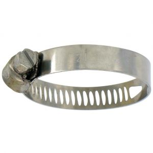 Cap Vert Collier inox en sachet - Diamètre 24 - 36 mm - Longueur 8 mm - Vendu par 4 - CAPVERT