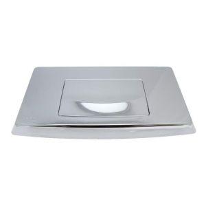Siamp Plaque intégra simple touche chromé -