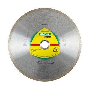 Klingspor Disque diamant SUPRA DT 600 F D. 125 x 1,6 x Ht.7 x 22,23 mm - Grès cérame / Faïence / Carrelage - 325369