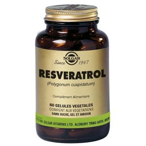 Solgar Resveratrol - 60 gélules