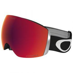 Oakley Flight Deck Masque de Ski Mixte Adulte, Matte Black/Prizm Torch Iridium