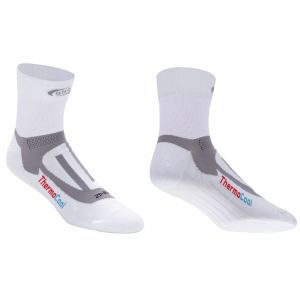 BBB cycling Soquettes ErgoFeet ThermoCool (blanc) - BSO-04 - 43-46