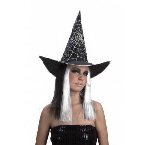 Perruque sorcière pour femme Halloween