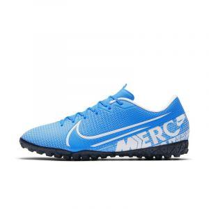 Nike Chaussure de football pour surface synthétique Mercurial Vapor 13 Academy TF - Bleu - Taille 42 - Unisex