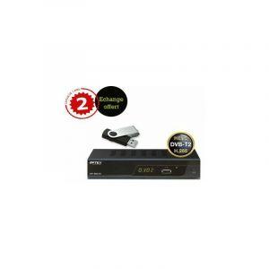 Optex PACK 9832 TNT HD DOUBLE TUNER + DISQUE DUR EXTERNE (CLÉS USB 16G) - AVEC ECHANGE STANDARD OFFERT