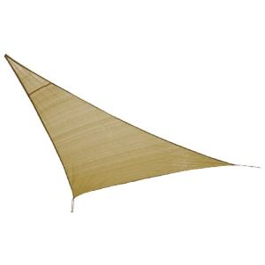 High Peak 10020 - Voile d'ombrage triangulaire Bermuda Tarp 360