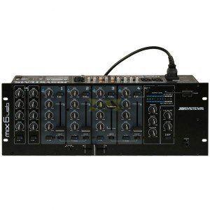 """JB Systems MIX 6 USB - Table de mixage 19"""""""
